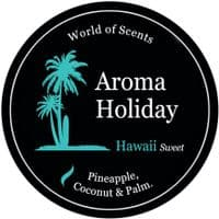Aroma Holiday Hawaii Scented Candle